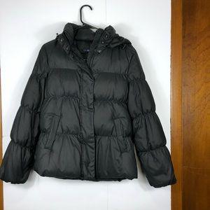 Gap down filled puffer jacket Sz M